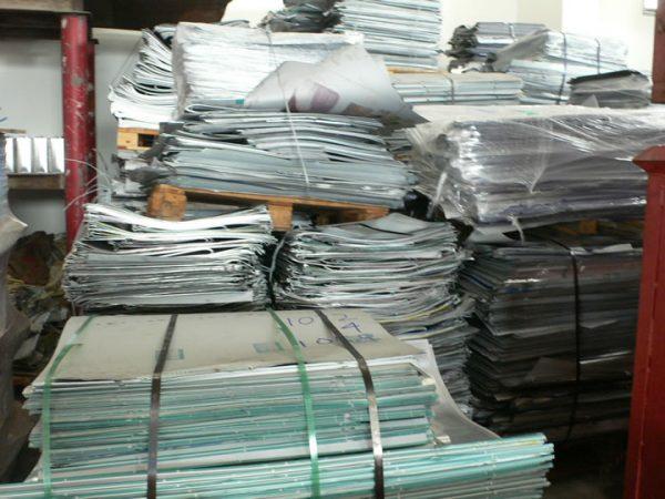 Aluminium Lithographic Sheets Scrap