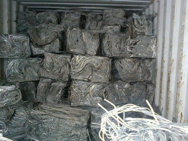Aluminium Wire Scrap 99.99%