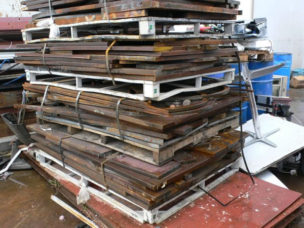 Ferrous PNS Plates Scrap