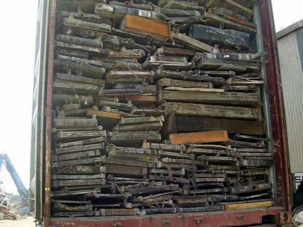 Mixed Unsweated Auto Radiators Scrap