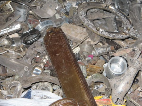 Old Zinc Die Cast Scrap