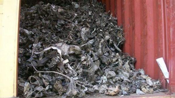 Shredded Steel Scrap
