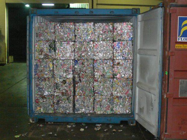 UBC Aluminium Used Beverage Cans
