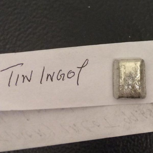 TIN Ingot 99.99%