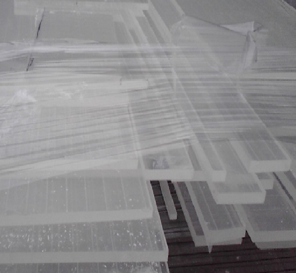 Acrylic Sheet Scrap Regrind